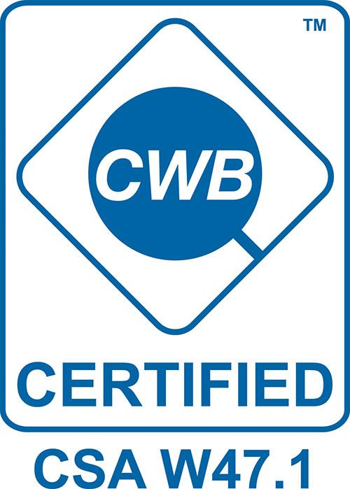 CWB Certification W47.1