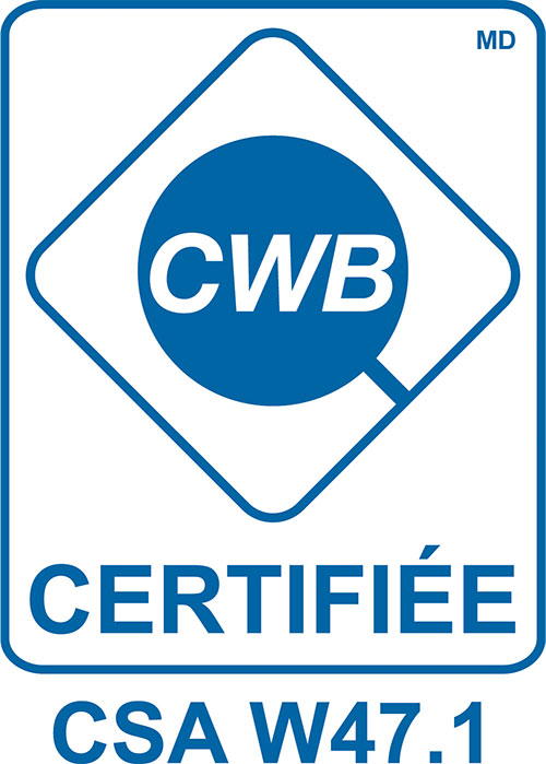 CWB Certification W47.1